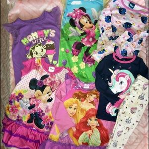 Other - 3T PJ Lot 6pairs